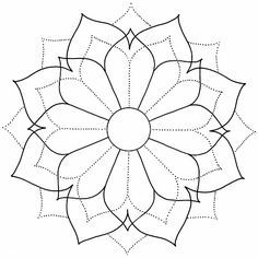 Do it yourself also known as DIY is the method of building modifying or repairing something without the aid of experts or professionals Mandala Art, Mandala Stencils, Mandala Drawing, Mandala Painting, Mandala Pattern, Mosaic Patterns, Mandala Design, Flower Mandala, Doodle Patterns