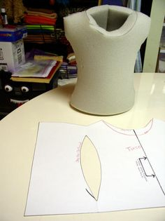 Shouldered body pattern inspired by Dr Puppet