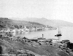 ✿ ❤ Karataş (Rubellin 1880 civarı) Smyrna...Eski İzmir Fotoğrafları