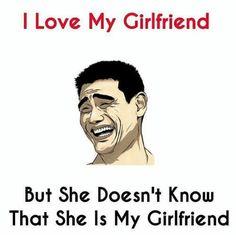kucch to itna pyaar karte hai ki bahar hi reh jaate hai. Desi Humor, Desi Jokes, Funny Gags, Funny Jokes, Hilarious, Laughing Colors, I Love My Girlfriend, Laughter Therapy, Rock Quotes