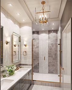 Bathroom decor, Bathroom decoration, Bathroom DIY and Crafts, Bathroom home design Dream Bathrooms, Beautiful Bathrooms, Luxury Bathrooms, Master Bathrooms, Small Bathrooms, Modern Master Bathroom, Modern Bathrooms, Bathroom Interior Design, Decor Interior Design