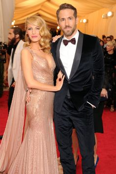famous inspiration ✄ | Blake Lively and Ryan Reynolds