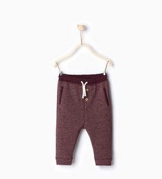 Flecked trousers-Trousers-Baby boy-Baby | 3 months - 3 years-KIDS | ZARA United States
