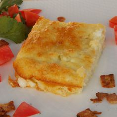 Fast & Fabulous Egg & Cottage Cheese Casserole #MyAllrecipes.   Exchanges flour to plan approved.  #AllrecipesAllstar