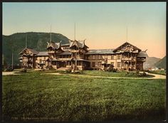 [Hotel Dalen, Telemarken (i.e, Telemark), Norway]      Repository: Library of Congress Prints and Photographs Division Washington, D.C. 20540 USA http://hdl.loc.gov/loc.pnp/pp.print