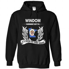 WINDOM - Its where my story begins! - #gifts for boyfriend #gift for dad. HURRY => https://www.sunfrog.com/No-Category/WINDOM--Its-where-my-story-begins-7130-Black-Hoodie.html?68278