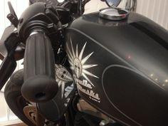 Harley Davidson with Airxess logo Airbrush, Harley Davidson, Logo, Vehicles, Style, Air Brush Machine, Swag, Logos, Car