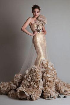 2014 HAUTE COUTURE BRIDAL GOWNS | Krikor Jabotian Haute Couture ...