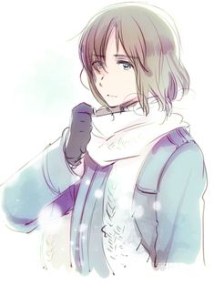 Axis Powers Hetalia Lithuania in the Winter