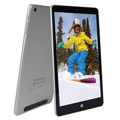 """NuVision TM800W560L Signature Edition Windows 10 8"""" Full HD Tablet"""