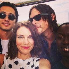 The walking dead cast @daisyrdriver *