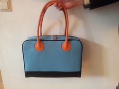 Hester van Eeghen: Woody - blue black orange