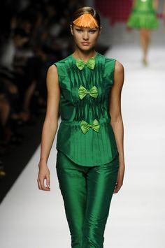Agatha Ruiz de la Prada at Milan Fashion Week S08