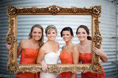 Big ornate frames (Taylor Rebecca Photography)