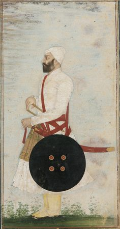 Portrait of an officer - India