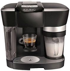 Does Keurig make espresso? Yes, Keurig Espresso K Cups can work in standard machines, but for a true espresso you will need a Keurig Rivo espresso maker. Coffee And Espresso Maker, Cappuccino Maker, Espresso Coffee Machine, Cappuccino Machine, Drip Coffee Maker, Hospital Gifts, Diane, Keurig, Cooking Tools