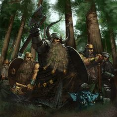 The Dwarves for many years did not know any other folk, until Firebeards and Broadbeams had their first meeting with the Elves in Beleriand in the year 1250 of the Years of the Trees. From that time on there was friendship between the Sindar and the Dwarves, and they began exchanging knowledge and creating ring-mails and many other works; the Dwarves of Nogrod were unmatched in Middle-earth in smithing.