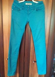 Kup mój przedmiot na #vintedpl http://www.vinted.pl/damska-odziez/rurki/9872647-modne-niebieskie-spodnie