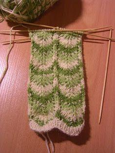 Heivatut kudelmat: Polvekeraitasukat Knitting Stitches, Knitting Socks, Knitting Patterns, Knitting Ideas, Knit Socks, Drops Design, Handicraft, Mittens, Stitch Patterns