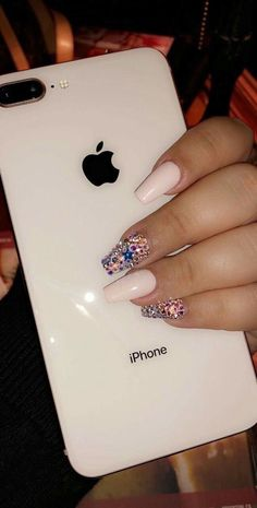 Best Ideas For Nails Design Cute Phone Cases Cute Nails, Pretty Nails, Coffin Nails, Acrylic Nails, Hair And Nails, My Nails, Telephone Smartphone, Accessoires Iphone, Nagel Gel