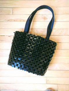 Handmade beaded purse. Shoulder bag. Empowering women through employment opportunities in Kampala, Uganda, Africa.