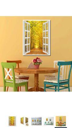 Autumn Decor French Window frame