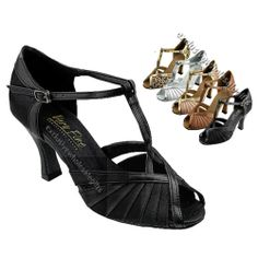 Women's Salsa Ballroom Tango Wedding Satin Dancing Dance Shoes Very Fine 2707 | eBay
