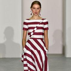 Jasper Conran Spring/Summer 2017 Ready To Wear Collection British Vogue Fashion Weeks, Fashion 2017, Runway Fashion, Trendy Fashion, Spring Fashion, High Fashion, Fashion Show, Fashion Trends, Vogue Fashion