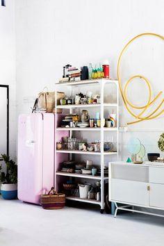Interior stylist Jason Grant shares his favourite decorating tips Ikea Kitchen Storage, Rental Kitchen Makeover, Beach House Kitchens, Dream Kitchens, Industrial Style Kitchen, I Love House, All White Kitchen, Kitchen Cabinet Colors, Interior Stylist