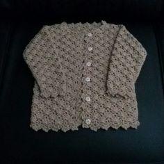 Casaco Infantil  Croche WhatsApp  061 9 9918 0837