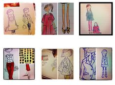 lovely sketches by @sophieandlili