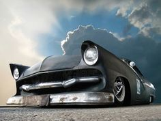 Custom Ford Fairlane Low Rider Looks Part Rat Rod Chevrolet Bel Air, Rat Rods, Classic Hot Rod, Classic Cars, Cadillac, Automobile, Planes, Old School Cars, Ford Fairlane