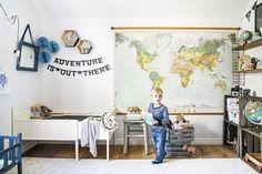 VM designblogg: Σκανδιναβική κατοικία Cool Kids Rooms, Scandinavian Home, Inspiration Boards, White Wood, Boy Room, Decoration, Kids Bedroom, Crates, Gallery Wall