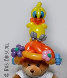 Balloon hat. #Balloon sculpture hat #balloon-sculpture-hat #balloon art hat #balloon-art-hat #balloon twist hat #balloon-twist-hat #balloon character hat #balloon-character-hat
