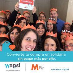 Cuando compres online, acuérdate de ayudar @felem con tu #gestosolidario http://wapsi.org/EME! #esclerosismúltiple