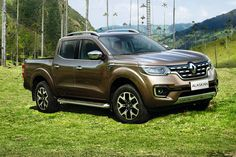 Renaults first Pick-Up Alaskan ic coming in the next months!the platform is the Nissan Navara. The rivals in Europe are BIG!
