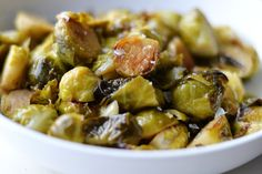 Salt and Vinegar Instant Pot Brussel Sprouts (AIP/Paleo/Whole30)
