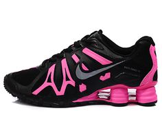Women's Nike Shox Tennis Shoes | Nike Shox Turbo+13 Womens Shoe Black Pink [532584 020] - $89.00 ...