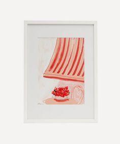 Chiara Perano - A4 Framed Siesta Print Liberty Tree, Christmas In Australia, Christmas Uk, Dark Ink, Christmas Delivery, Wall Art Designs, Framed Art Prints, Colours, A4