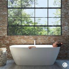 Caroma (@caromaaustralia) • Instagram photos and videos Bathroom Goals, Bathroom Inspo, Bathroom Inspiration, Interior Styling, Interior Design, Bathtub, Relax, House Design, Luxury Bath