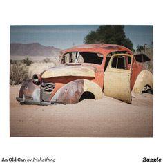 An Old Car. Jigsaw Puzzle