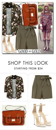 """Untitled #562"" by leathersatchel ❤ liked on Polyvore featuring Miss Selfridge and Giuseppe Zanotti"