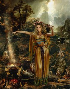 Faerie Queen Medb ( Maeve ) of Sidhe helps in breaking patterns or cycles which…