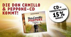 Live Gesamtaufnahme von DON CAMILLO & PEPPONE ab sofort vorbestellen. Die CD erscheint am 14. April 2017. #ronacher #musical #wien Ab Sofort, Camilla, Live