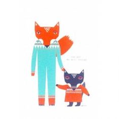 Put a piece of Donna's artwork on your wall with these limited edition prints for your home. Print Poster, Tea Towels, Friends, Objects, New Homes, Fox, Art Prints, Design, Inspiration