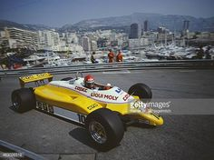 Eliseo Salazar of Chile drives the Team ATS ATS D5 Ford Cosworth DFV V8 during the Grand Prix of Monaco on 23rd May 1982 on the streets of the...