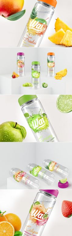 Wai Water is Bringing The Fresh Vibes — The Dieline | Packaging & Branding Design & Innovation News