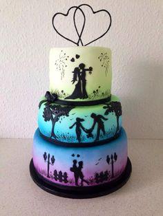 Would make a nice anniversary cake