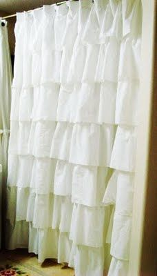 Saweeet! I have been wanting to make this curtain since I saw it in Anthropologie!