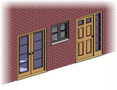 Revit Architecture: Doors and Windows Tutorial - http://bimscape.com/revit-architecture-doors-windows-tutorial/